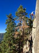 Rock Climbing Photo: Shooting star
