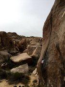 Rock Climbing Photo: Peter eater pumpkin eater