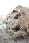 Rock Climbing Photo: chalk bucket for comparison