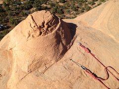 Rock Climbing Photo: Bolts at the bollard site.