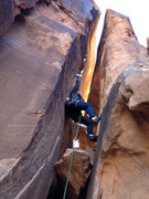 Rock Climbing Photo: Right before I turned around. A photogenic route i...