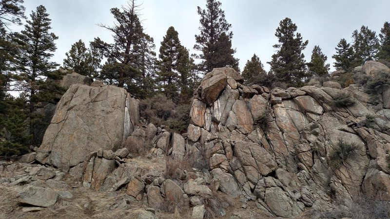 New Rock near Butte MT.