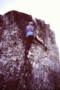 Rock Climbing Photo: [photo#4] Probably just before 1st summit