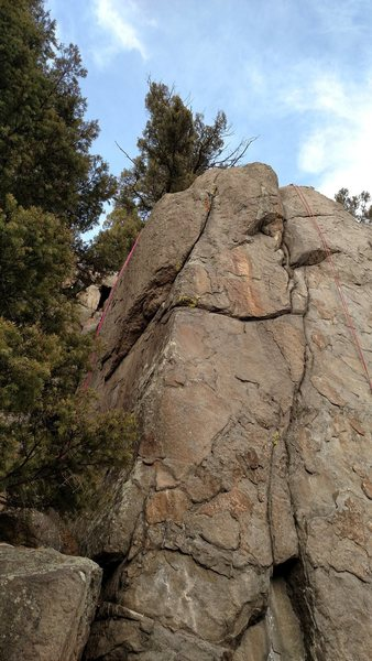 Rock Climbing Photo: One for the Road, 5.8.