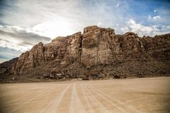 Rock Climbing Photo: The main wall at Ibex that can been obviously seen...