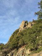 Rock Climbing Photo: Ivory Coast high above Kimball Canyon