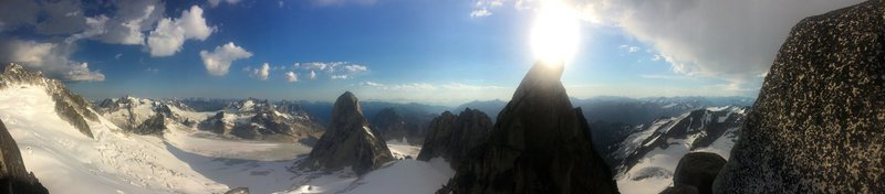 Here is a cool photo I took in the Bugaboos last year.
