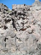 Rock Climbing Photo: Double Dipping