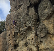 Rock Climbing Photo: Climbing The Ladder