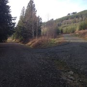 Road BR02 is no longer marked. It looks like this picture as of 2/29/16. Take the up hill and right road and then follow directions as usual. This is the first junction after the newly formed beaver pond and concrete barriers.