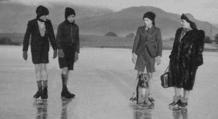 1951 Keswick Lake UK