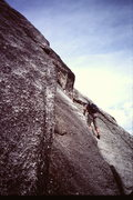 "Rock Climbing Photo: I believe this is the start of the ""5.5 trave..."