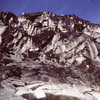 "Cropped photo of ""Headwall above the snowpatch"""