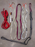 Cord/slings:  <br />Unused Mammut Pro Cord Cordalette: $6.  <br />Unused Mammut Screamer: $15.  <br />Mammut 60cm sling: SOLD.  <br />Nylon 60cm sling (2 units): $3.  <br />Mammut 120cm Sling (blue): SOLD.  <br />Metolius PAS: $10.  <br />Note: I have more slings available if you're interested. Any slings that I didn't feel completely confident passing on to another climber I cut up and threw away. These have been used, but their in really good condition.