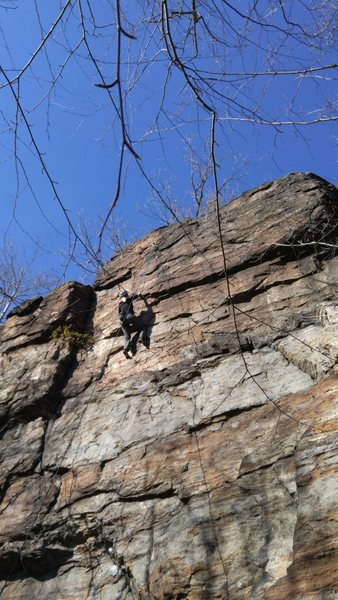 Rock Climbing Photo: My favorite route at this wall