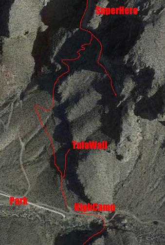 The Tufa Wall Approach