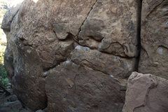 Rock Climbing Photo: 3/4 of the way through