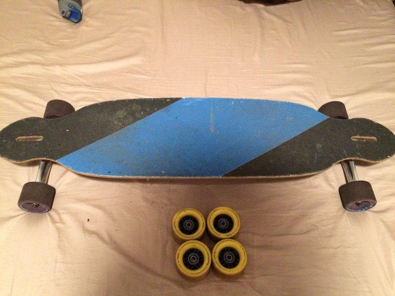 Orangatang Balute wheel +$40