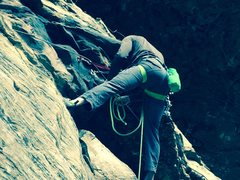 Rock Climbing Photo: HEELLLOOO