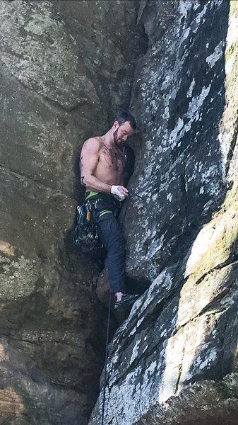 Rock Climbing Photo: 68 in Feb.