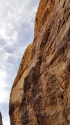 Rock Climbing Photo: Top half of Don't scare the bat