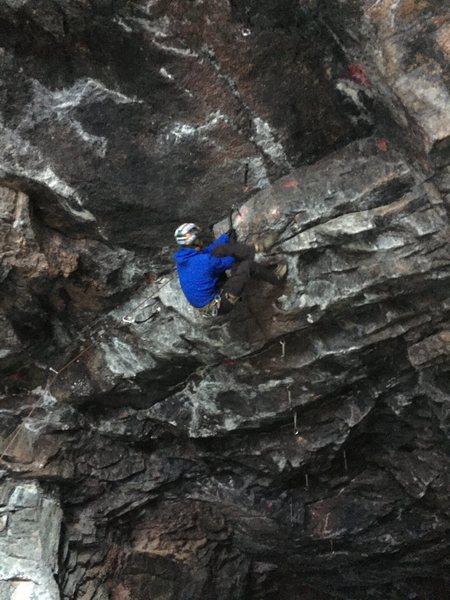 Rock Climbing Photo: Figure 4 m10
