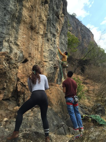 Rock Climbing Photo: Shigu, near Lijiang, Yunnan Province.