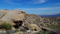 Rock Climbing Photo: That view.