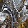 One more anchor complete at POS, thanks again Petzl for the demo tools