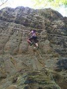 Climbing at the RRG, Kentucky
