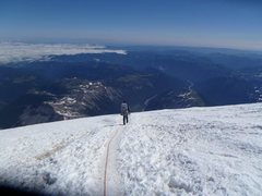 Rock Climbing Photo: Descending Rainier in 2012