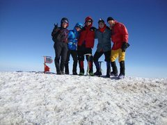 Rock Climbing Photo: Group on the summit