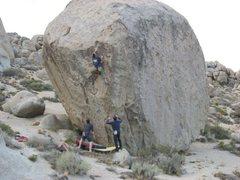 Rock Climbing Photo: Kevin Daniels on Mesothelioma