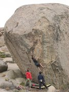 Rock Climbing Photo: Mike Brady on Mesothelioma