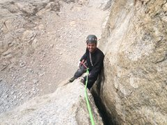 Rock Climbing Photo: Finishing the OW on SW face Conness