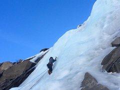 Rock Climbing Photo: Lee Vining Main Wall Right