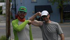 Rock Climbing Photo: Tommy B and I pre-Shasta trip
