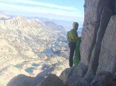 Rock Climbing Photo: Bear Creek Spire
