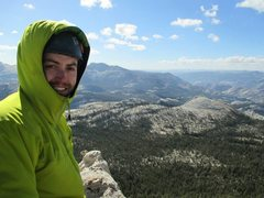 Rock Climbing Photo: Atop Eichorn Pinnacle after West Pillar Direct