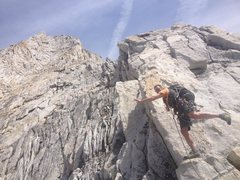 Rock Climbing Photo: West Ridge Conness Simul with ABB