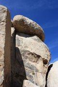 Rock Climbing Photo: Grit Roof (5.10d), Joshua Tree NP
