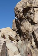 Rock Climbing Photo: Eileen Dover (5.10b), Joshua Tree NP