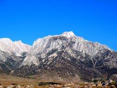 Rock Climbing Photo: Lone Pine Peak, High Sierra