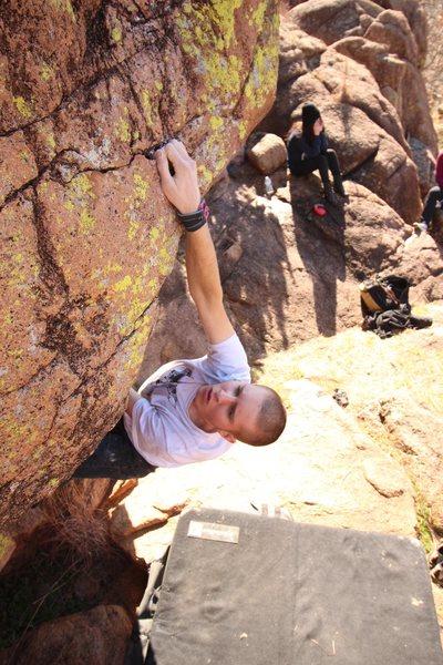 Rock Climbing Photo: reachhh  Photo by: Mason Mayhall
