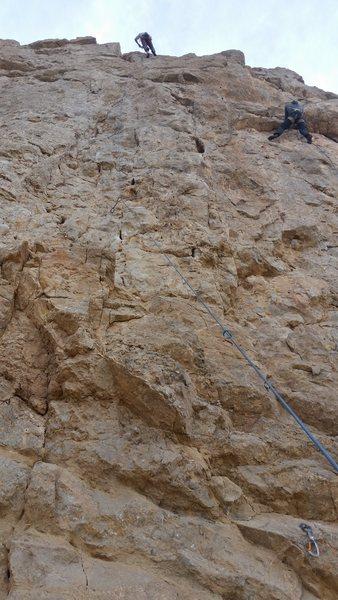 Rock Climbing Photo: Eriza 11 Bolts