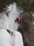 Rock Climbing Photo: Ice Slot in exceptionally fat condition.  You can ...