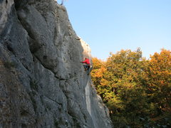 Rock Climbing Photo: Fall in Frankenjura