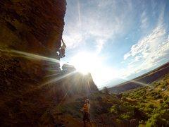 Rock Climbing Photo: Eastern Washington