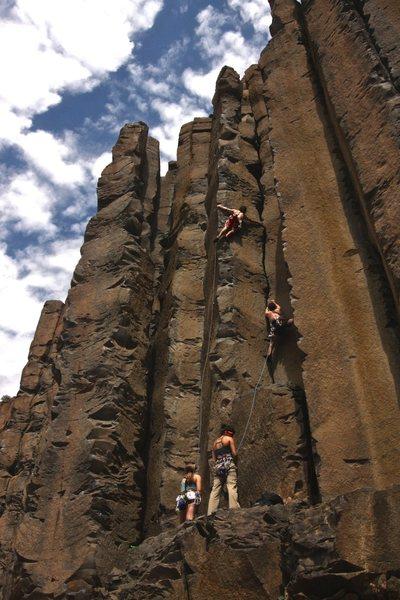 Rock Climbing Photo: The good days of summer