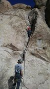 Rock Climbing Photo: A fairly fun route if others are defended by a cra...